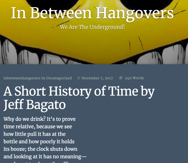 Short Hist:time-hangovers
