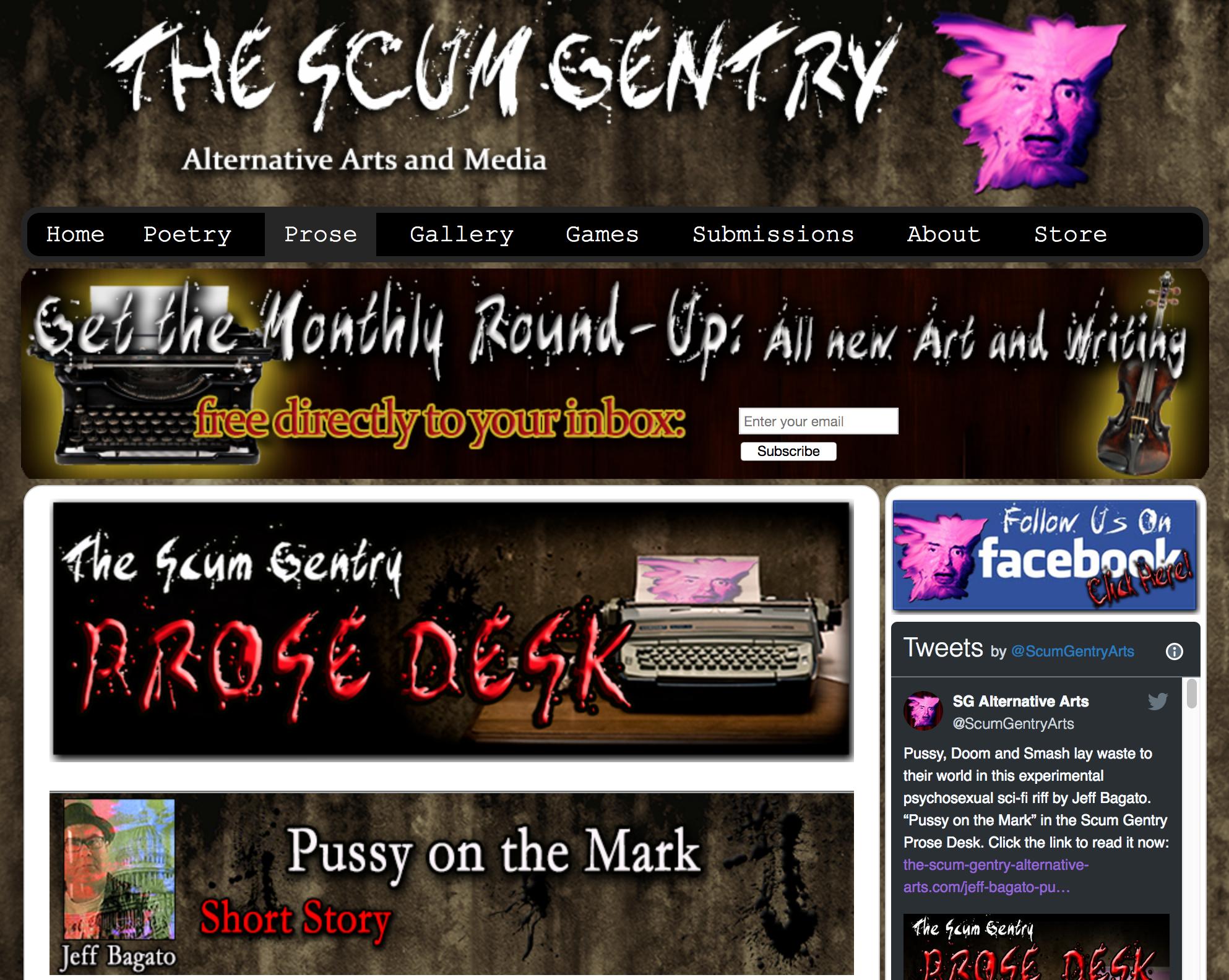 scum gentry pussy mark