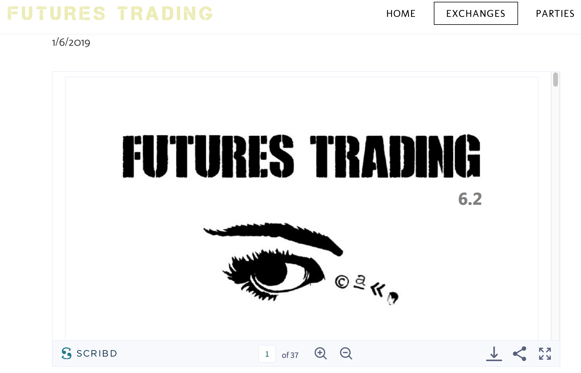 futures trading 6.1
