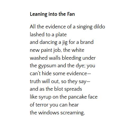 leaning fan oddball 3