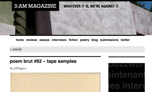 3AM-tape samples