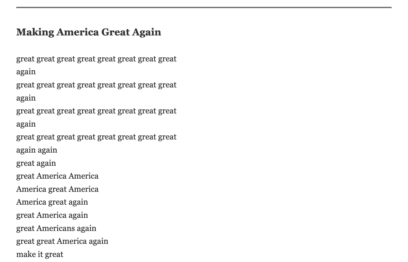 making america 2 otoliths 56
